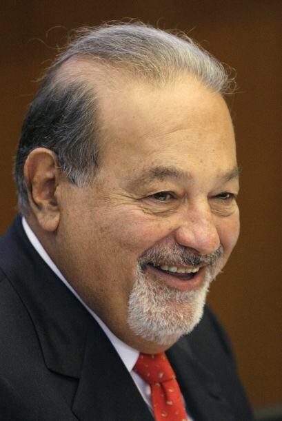 Carlos Slim Helú es uno de los tres hombres más ricos del...