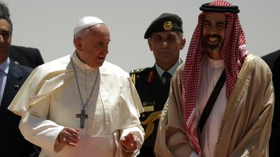 Jordania da la bienvenida al Papa Francisco