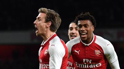 Hay vida después de Alexis: Arsenal clasificó a la final de la Copa de la Liga tras vencer 2-1 al Chelsea