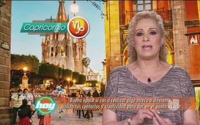 Mizada Capricornio 23 de junio de 2017