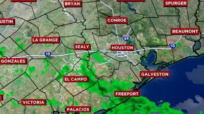 Miércoles lluvioso y temperaturas cálidas: el pronóstico del tiempo para el área de Houston