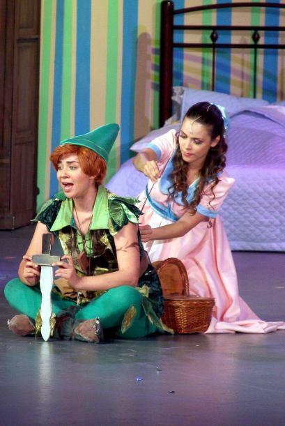 Aquí la podemos ver como Peter Pan en 2013.