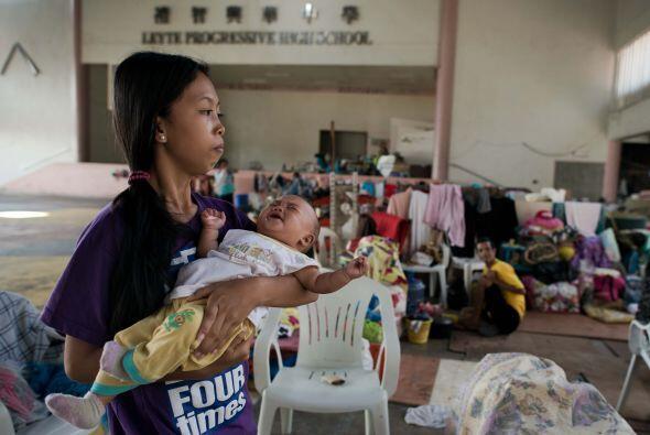 La subsecretaria general de la ONU para Asuntos Humanitarios, Valerie Am...