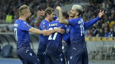 Sporting, Lazio, Marsella y Leipzig clasificaron a cuartos de final de Europa League