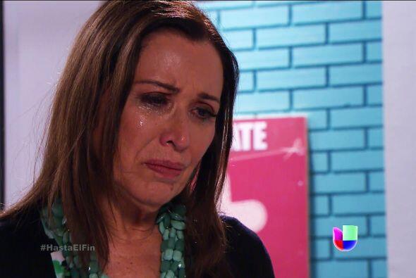 No esté tan triste doña Lupita. Esperamos que Javier poco...