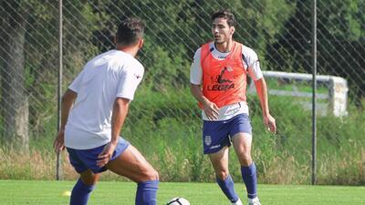 'Pollo' Briseño ya debutó con el CD Feirense
