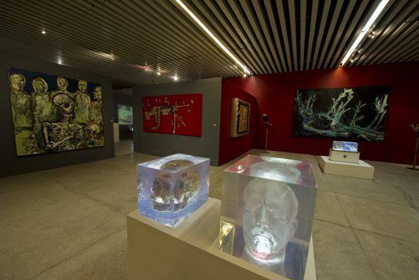 La exposición se encuentra en la Universidad Iberoamericana. El autor de...