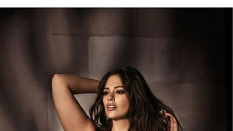 La modelo se rehusa a aceptar que las tallas grandes no sean sensuales,...