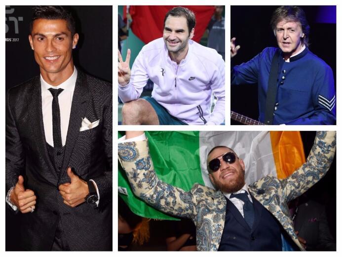 La prestigiosa revista Forbes publicó la lista actualizada de las celebr...