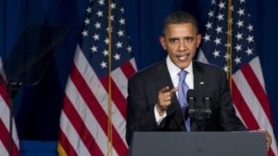 En su visita a Nueva York, Barack Obama calificó de 'sacrosanto' el apoy...
