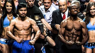 Manny Pacquiao y Tomothy Bradley superaron el round cero