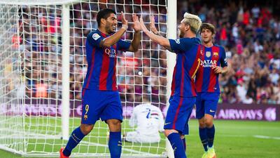 Messi guió triunfo de Barcelona sobre la Sampdoria para quedarse con el Joan Gamper