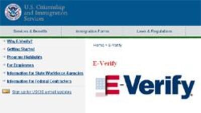 """Empresas contra cláusula de """"E-Verify"""" en plan de estímulo 44f8adcdecdf4..."""