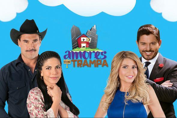 """La telenovela """"Amores con Trampa"""" cuenta con un maravillo elenco entre e..."""