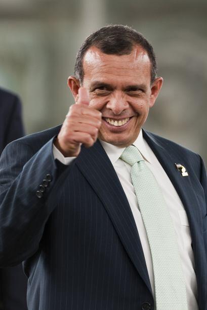 El tercer puesto se lo lleva Porfirio Lobo. El gobernante de Honduras re...