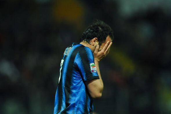 'Giampa' estaba desesperado pues el Inter perdía con el Cesena hasta el...