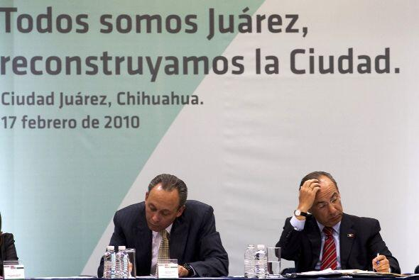 El presidente Calderón incluso se hizo presente días despu...