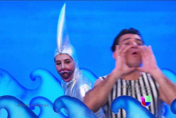¿Recuerdan cuando Ana la transformó en un tiburón dentro de sus sueños?