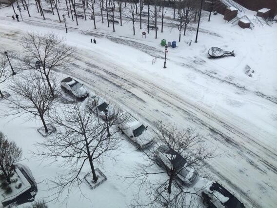 El 3 de enero así fue como amaneció la ciudad, y el Gordo quiso comparti...