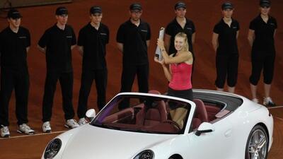 La rusa María Sharapova consiguió su primer título en la tierra batida d...