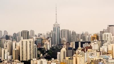 En el área metropolitana de São Paulo viven más de 20 millones de personas.