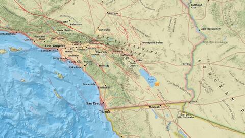 El temblor más fuerte en el área de Salton Sea fue de una...