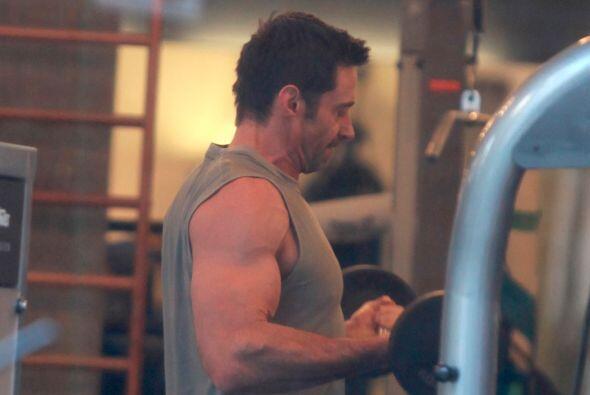 El actor de 46 años tiene una gran entrenadora.