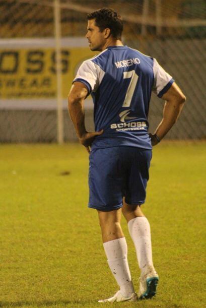 Pedro Moreno observó muy bien los movimientos del equipo contrario. Cort...