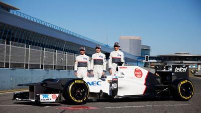 Sauber está listo para la temporada 2012 de F1 con el nuevo C31.