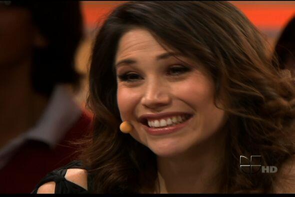 Bianca Marroquín le dijo a Carlos que tenía un color de voz muy lindo y...
