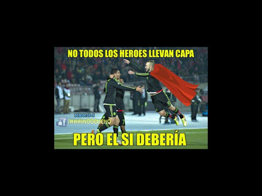 Los memes del empate entre México y Chile