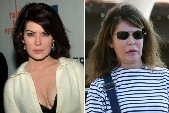 ¡Y así la captaron hace unos días! Mira el sorprendente antes y después....