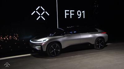 Este es el nuevo FF 91 de Faraday Future