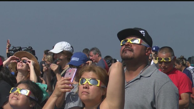 Eclipse solar 2017, un fenómeno que unió a la comunidad de Los Ángeles