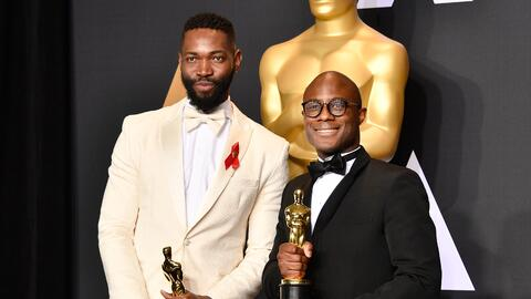 Tarell Alvin McCraney y Barry Jenkins
