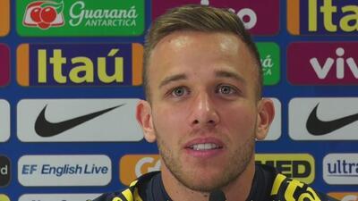 Arthur confesó por qué se asustó cuando lo llamaron por primera vez a la selección Brasil