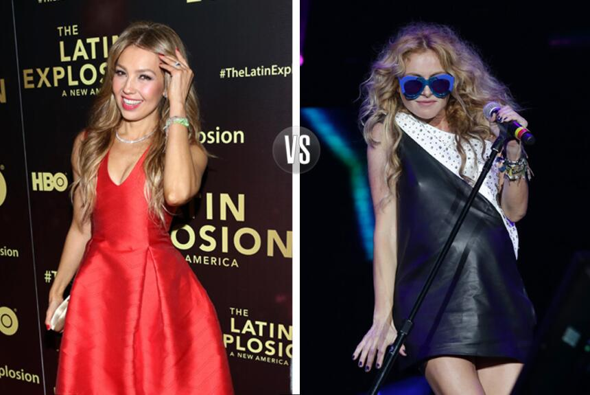 Thalía y Paulina