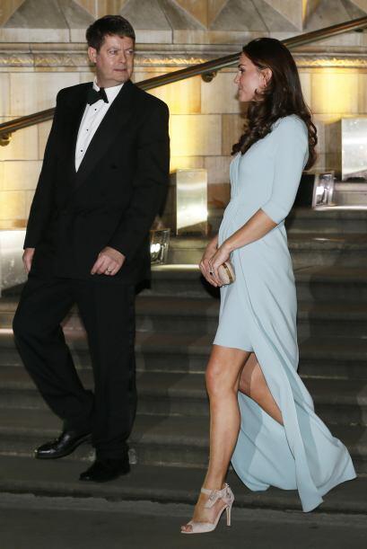 Para este evento, Kate eligió vestir de una de sus diseñadoras favoritas...