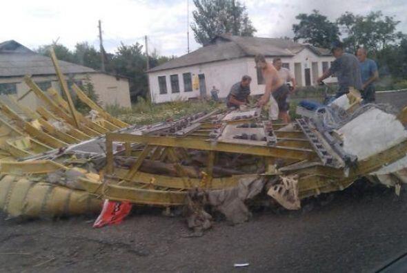 El aparato se estrelló en la región de Donetsk (este ucran...