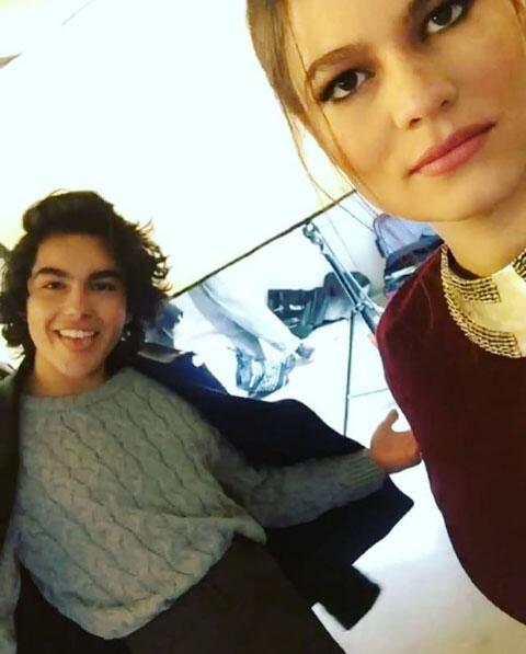 Sergio Mayer Mori y su hija