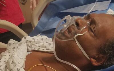 Familiares temen que hombre que fue impactado por una bala perdida en Br...