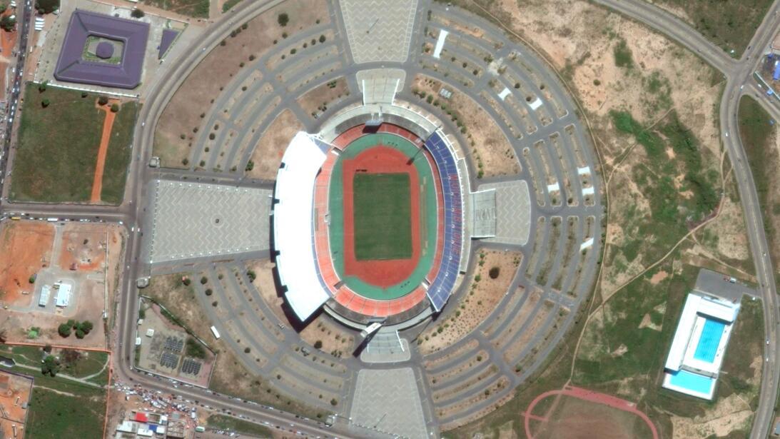 En Mozambique, el principal recinto deportivo es el Estadio Zimpeto, que...