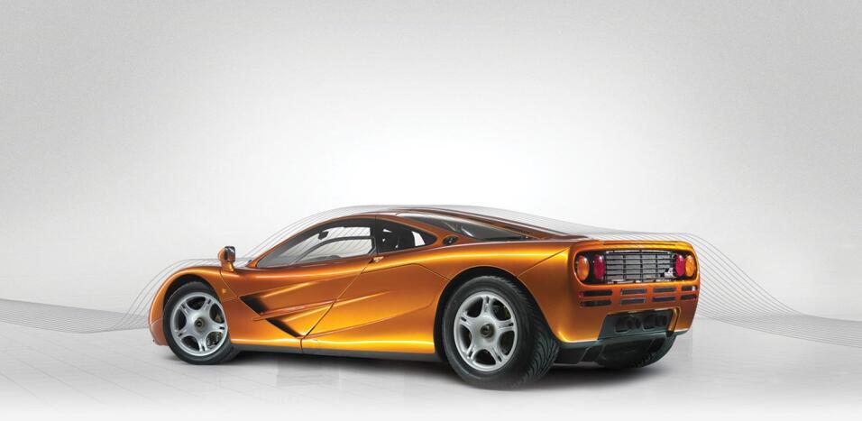 El McLaren F1 dominó los años '90 con un motor V12 de 6.0 litros y 6...