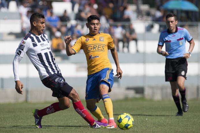 El juvenil Jonathan Espericueta, que jugó gran parte del tiempo en las F...