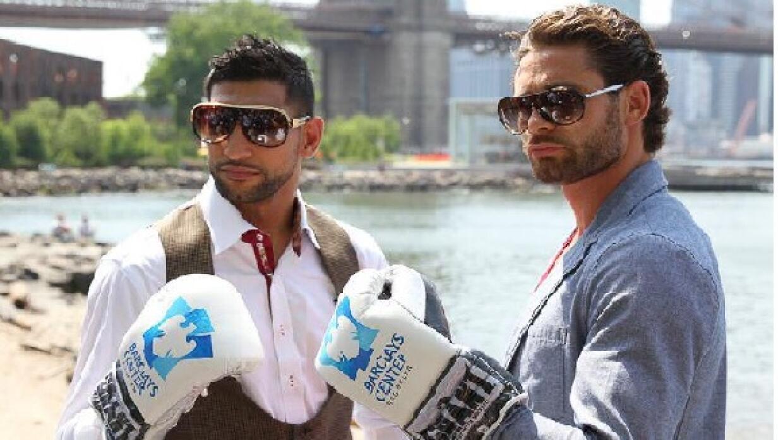 Khan y Algieri listos en Nueva York.