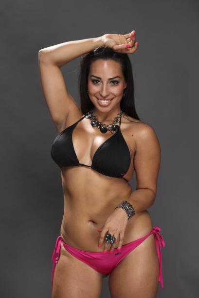 Yalbet Arévalo, candidata a Miss Pechonalidad