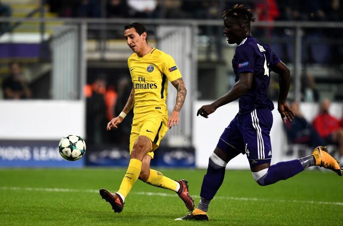 Extremo izquierdo: Ángel Di María (Paris Saint-Germain)