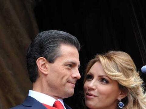Así lució Angélica Rivera junto a su esposo Enrique...