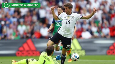 Sigue el minuto a minuto de Irlanda del Norte-Alemania y Ucrania-Polonia en la Eurocopa