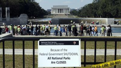Recuerdos del 2013, cuando hasta los parques nacionales debieron cerrar...
